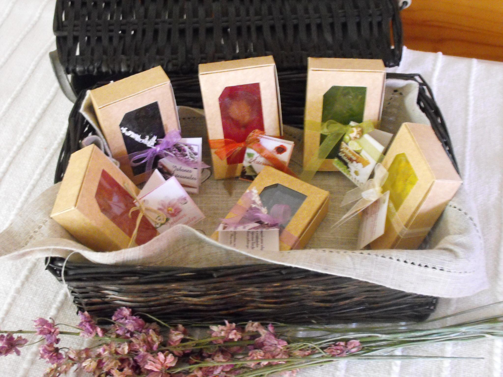 Pack de jabones aromticos