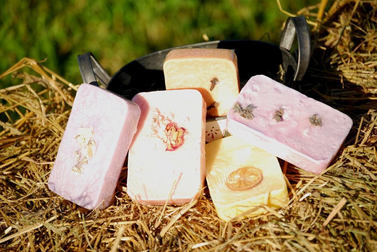 Jabones de leche de cabra de Sabores y Aromas del Sur