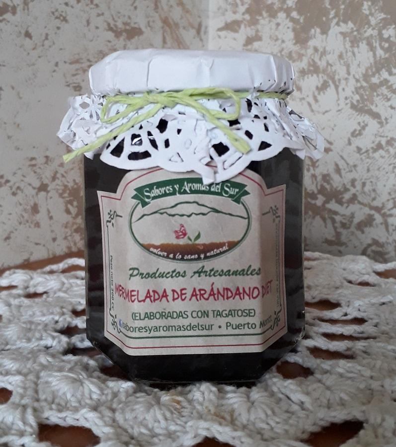 Mermelada de arándanos diet de Sabores y aromas del sur