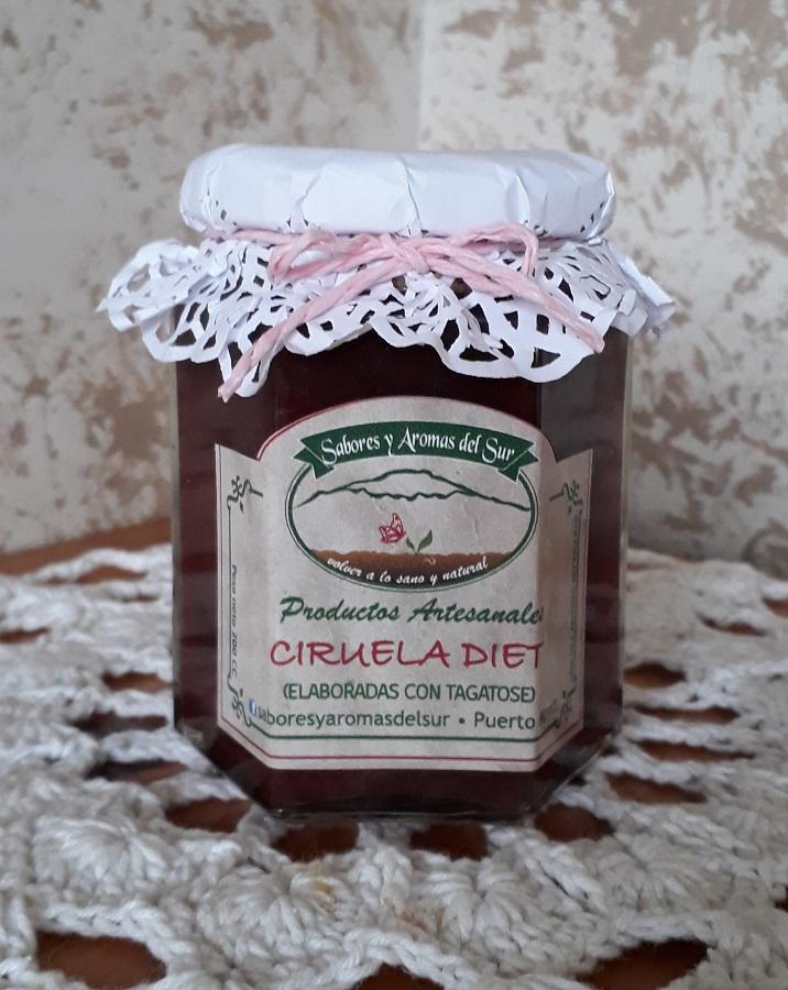 Mermelada de ciruela diet de Sabores y aromas del sur