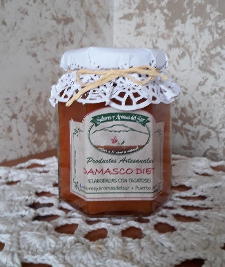 Mermelada de damascos diet de Sabores y aromas del sur
