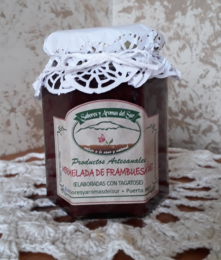 Mermelada de frambuesa diet de Sabores y aromas del sur