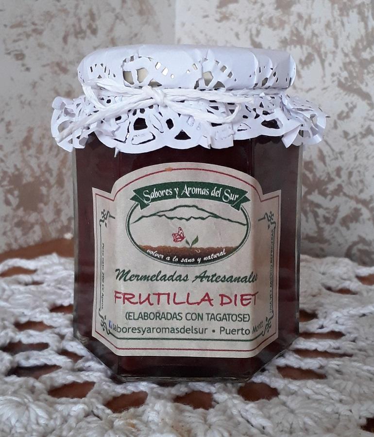 Mermelada de frutilla diet de Sabores y aromas del sur